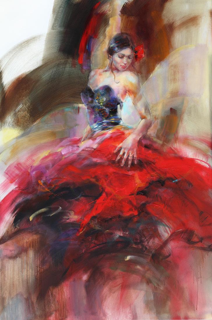 scarlet salsa by anna razumovskaya aristocrat gallery. Black Bedroom Furniture Sets. Home Design Ideas