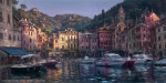 Dawn in Portofino